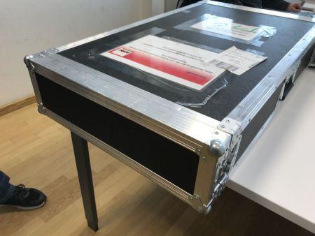 Ein Speicherknoten (Server) inklusive 12 4TB HDD Festplatten