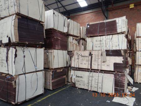 239 m³ Spanplatten