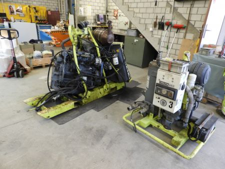 Baustellenkompressor